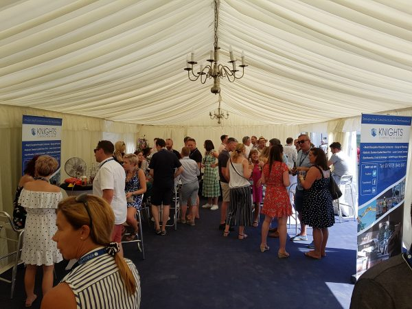 Llanfest VIP Marquee