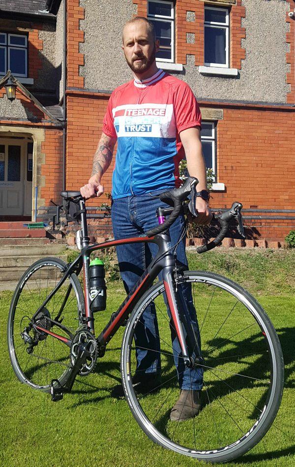 Doug with bicycle