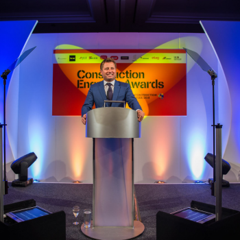 George Clarke hosted the Construction Enquirer Awards