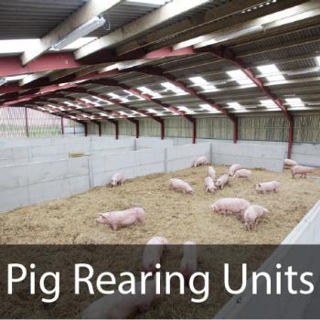 Pig rearing units